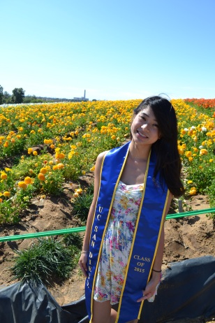 Amy was taking grad pics, so I brought my stole as well ;)